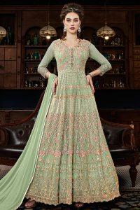 346f2389d5 Salwar Kameez. Beige Embroidered Anarkali Suit. £179.99. Add to Wishlist  loading